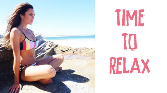 Relax and get rid of tension with my favourite yoga poses